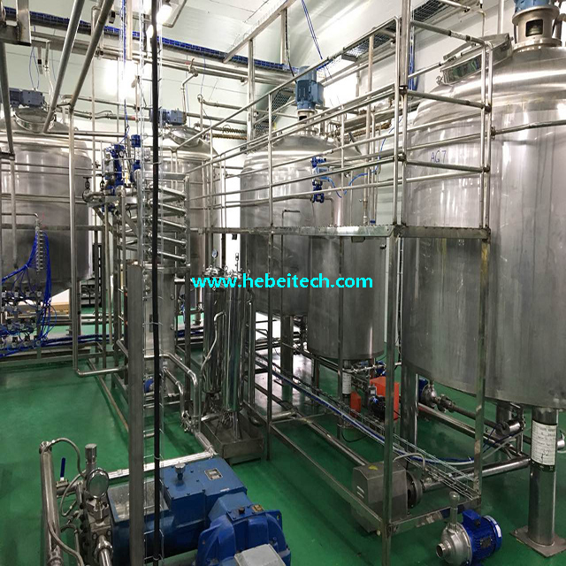 SS316 SS304 Palm Oil Processing Line Emulsification Tank China Manufacture